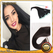 Seamless adhesive no glue skin weft tape hair extensions virgin human hair