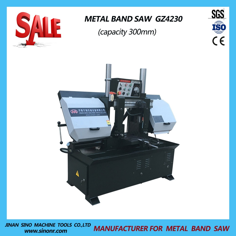 Semi Automatic Column Type Band Saws for Sale with Good Price