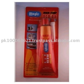 Magic RTV-1515 Magic High-Temp Red Color Silicone Glue