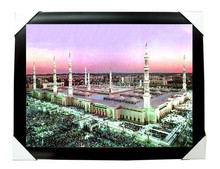 Factory stock free samples 3d picture of mecca no moq