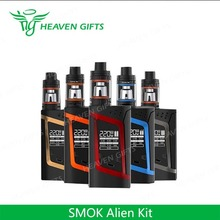Top Selling Products 3ml/ 2ml TFV8 Baby 220W SMOK Alien Kit elektronik rokok shisha
