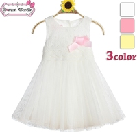 Kids Party Wear Dresses For Girls Cotton Frocks Design White Angel Kids Dress