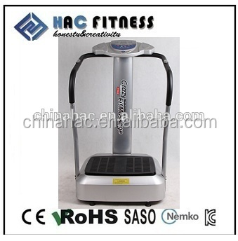 vibration and oscillation plate machine massage
