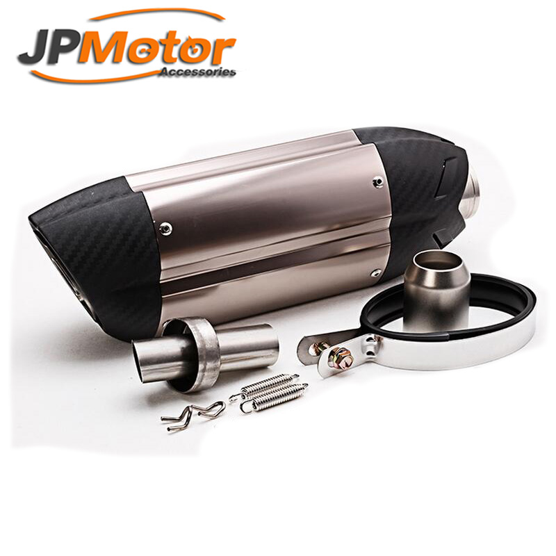 JPMotor - custom motorcycle exhaust muffler for z800 10RZX6R10R Monster 795