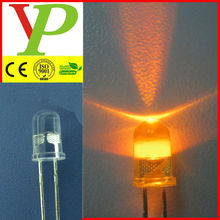 5mm high bright yellow flashing led diode