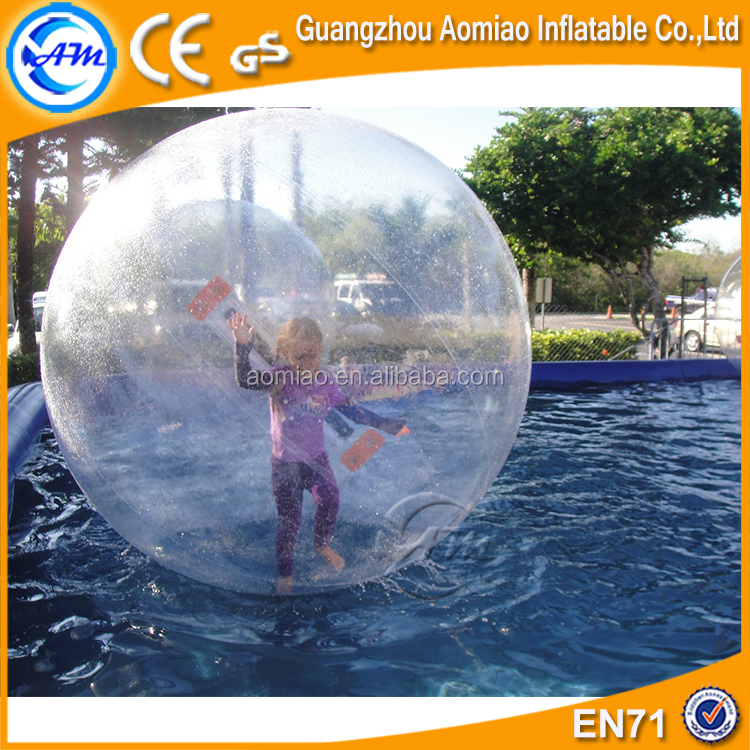 2017 Popular TPU Inflatable Water Walking Human Sized Hamster Mega ball