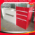 New design Metal grocery store checkout counter design