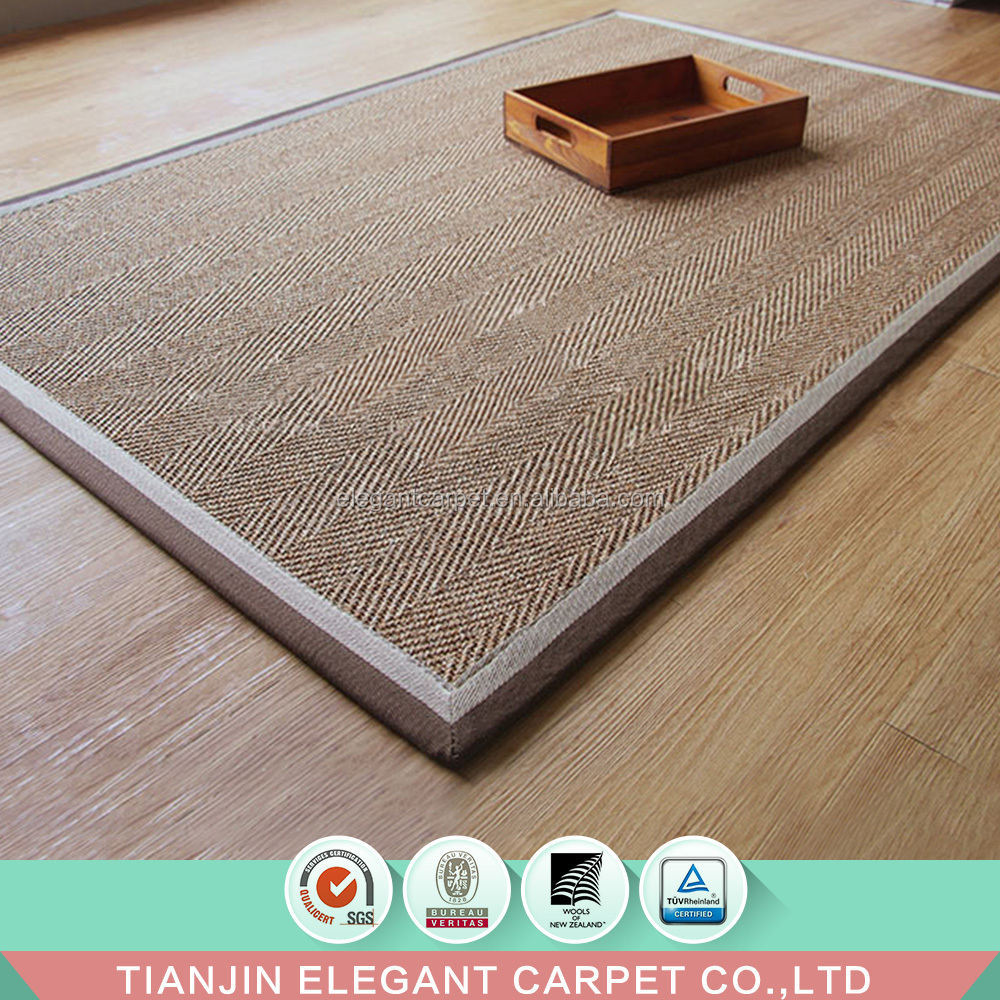 high quality luxury living room bedroom sisal carpet