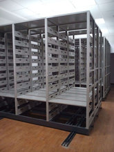 Steel Filing Cabinet Mechanical Mobile Shelving System Mechanical Mobile Compactor