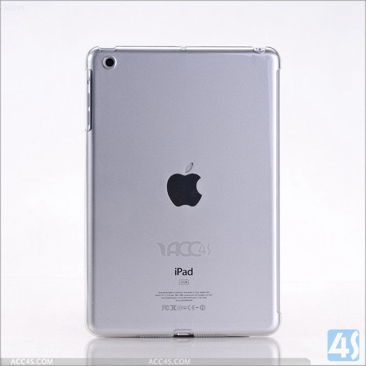 Wholesale Ultra Thin Crystal Plastic Hard Case For iPad Mini,Back Cover For Apple iPad Mini