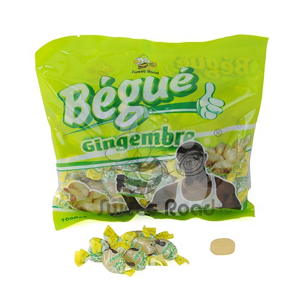 Begue Ginger hard candy for Africe Market