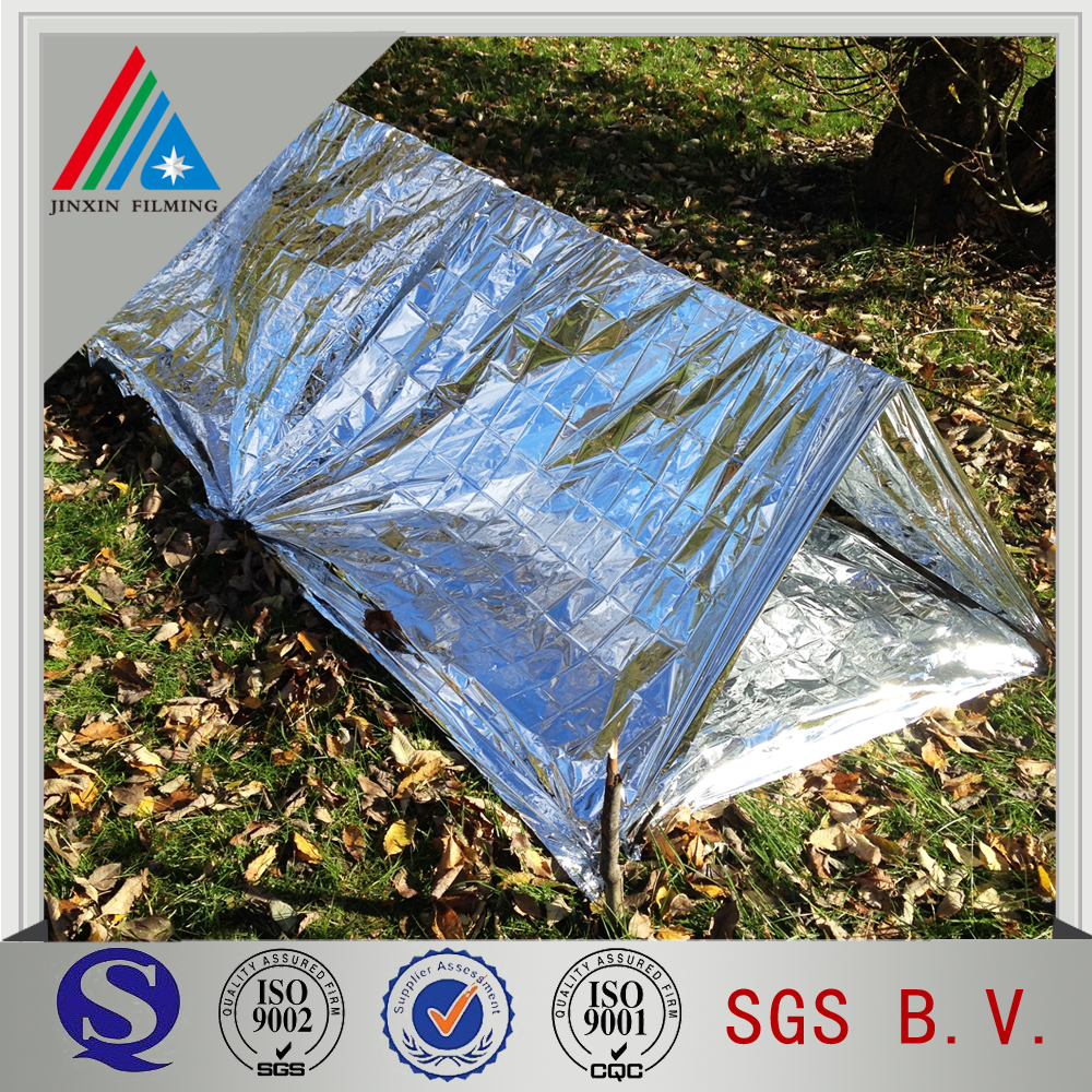 Double sided 10 micron aluminum foil laminated polyethylene film for flexible air duct