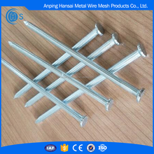 China hardened galvanized steel concrete nail sizes