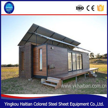 interior decoration luxury decorate villa for living expandab luxury steel Prefabricated wooden house