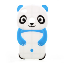 Universal 3D Panda Animal Silicone Phone Case for Huawei P8 Lite (2017)
