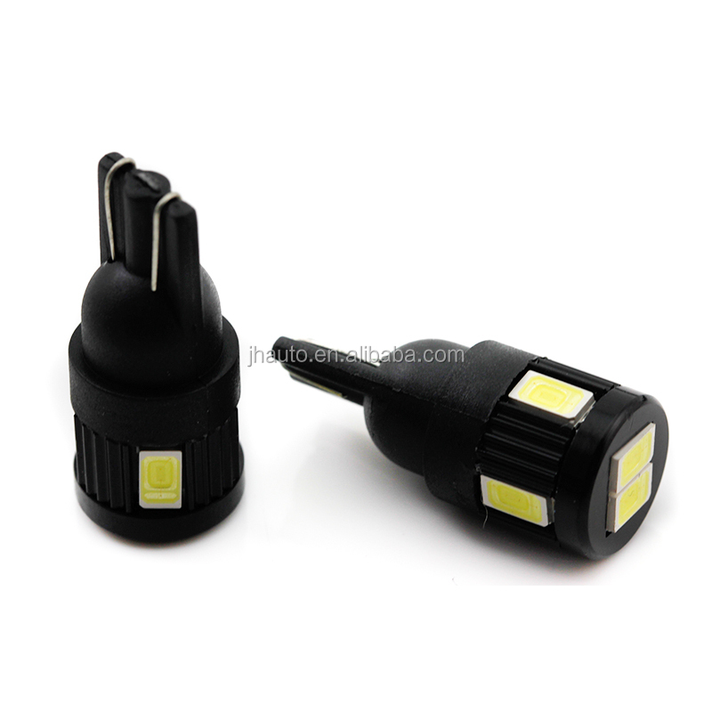 No Canbus t10 5630 SMD 6 LED W5W Car Light Lamp 12V-24V Interior LED Lights For Cars