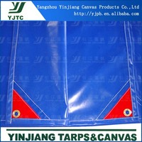 Blue outdoor tarps, canvas for swiming pool