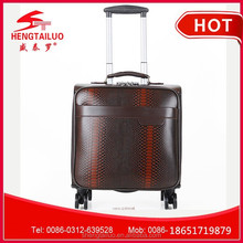 Small Travel Trolley Nylon Trolley Pu Trolley Luggage