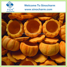 Best selling China high quality IQF frozen pumpkin