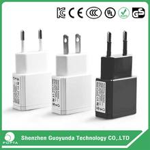 China factory supply professional 5v 2a usb wall charger with CE RoHS KC UL GS FCC certifications