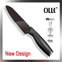 New Design Stainless Endcap Super Sharp Ceramic Kitchen Knife