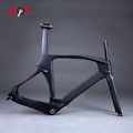 Chinese Carbon triathlon bikes TT frame new TT frameset Aero carbon frame Time Trail Bike frame FM018