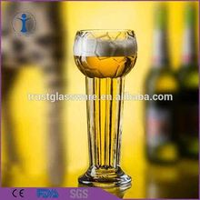 New Arrival Football Pattern Novelty Hand Made Shaped Mug World Cup Beer Glass
