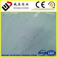 2017 Chinese white flooring marble ,cheapest white onyx marble