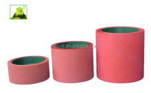 "4""/6""/10"" EPDM rice huller rubber roller for rice milling machinery in red with brand new cast iron aluminium drum"