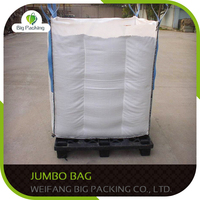 Drawsting plastic jumbo bag