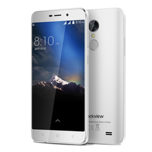 "Blackview A10 5.0""HD Smartphone MTK6580A Quad Core Screen 2GB 16GB Cellphone Rear Touch ID 3G Smartphone"