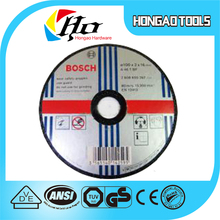 Copy BOSCH,Wholesale high quality polishing nylon grinding wheel,2016 Latest Design Top Quality Competitive Price Cutting Wheel