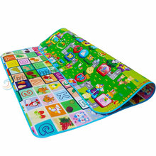 Double Face EPE Foam Infant Crawl Mats And Kid Play Mat Baby Play Crawling Mat in BEST-TODAY