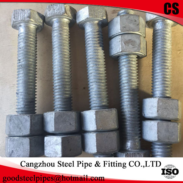 hot dip galvanized hex <strong>bolt</strong>