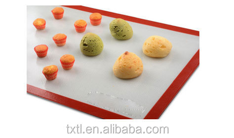 Heat resistant non-stick Silicone Baking Mat