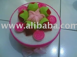 Toples cake flannel