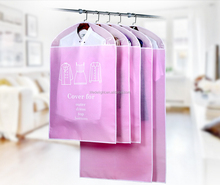 china factory Dress Clothes Garment Suit Cover Bags Dustproof Storage Protector Travel Carrier