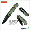 New Cuamouflage Handle Folding Military Tactical Combat Knife