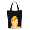 Fashion Customized Printed Logo Packing Cotton Canvas Bag