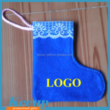 Customized Branded Promotional Felt Xmas Stockings for Christmas gift