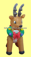 180cmH/6ft Inflatable Christmas decoration reindeer