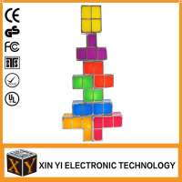USB Powered Stackable Building Blocks DIY LED interlligent Toy Tactbit Light