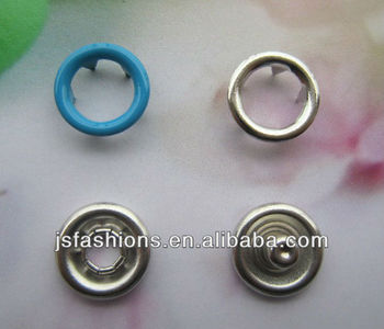 baby clothes brass prong snap button