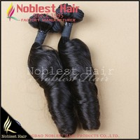 New fashion boti curly unprocessed virgin brazilian hair weft 7a human hair braiding
