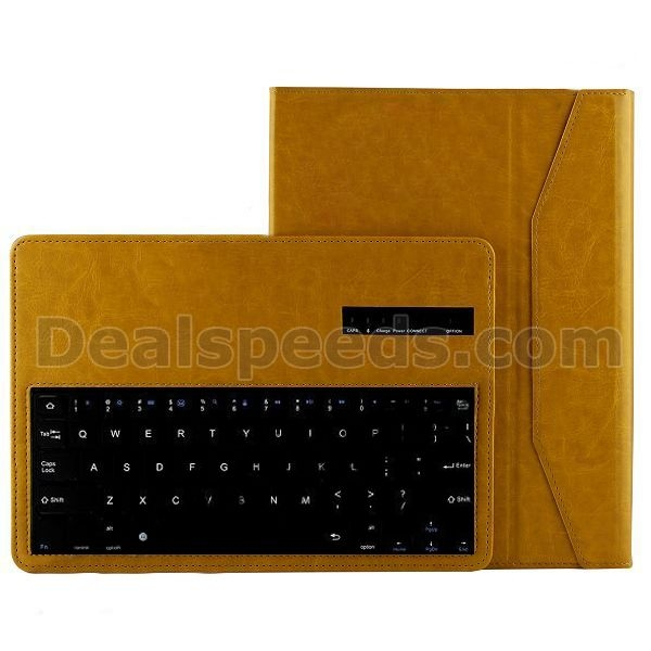 Detachable Bluetooth Keyboard Cover Magnetic Flip Stand Crazy Horse Texture Leather Case for Samsung Galaxy Tab 4 10.1 T530