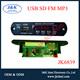 JK6839 high performance fm led mp3 audio player module