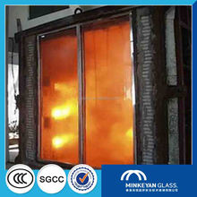 8mm 10mm 12mm 15mm 19mm Fireproof glass panel/ fire resistant glass for building