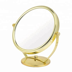 Multifunctional dressing table led lights 8 inch stand magnifying cosmetic mirror