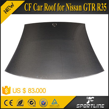 Factory Polish Carbon Roof for Nissa n R35 GT-R Track Edition Coupe 2-Door