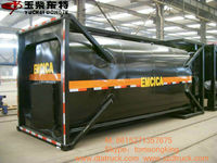 Dongte 20ft bitumen Tank Container IMO2 TYPE FOR BULK BITUMEN factory sale!